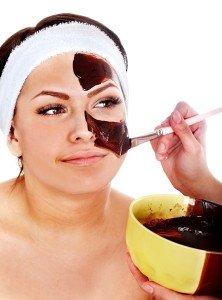 chocolate facial