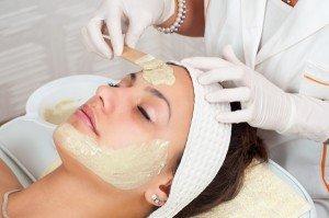 facial mask application